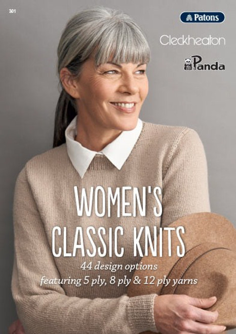301 Women's Classic Knits front cover