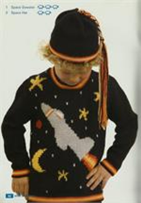 Moda book issue 5 designs 1 rocket jumper 2 beanie