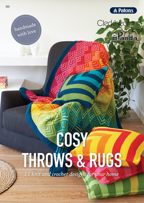 360 Cosy Throws and Rugs front cover