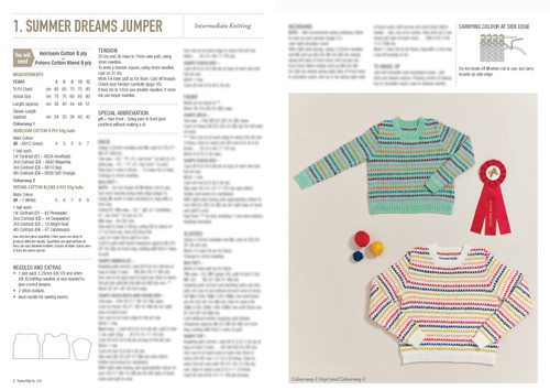 370 Sunny Kids 13 designs knit & crochet 4-12 years in 8ply