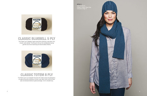 1308 Womens Classics - 6 designs in 5ply and 6 designs in 8ply