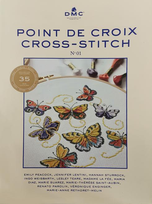DMC Book - 35 designs in Colour Cross Stitch