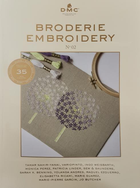 DMC Book - 35 designs in Colour Embroidery