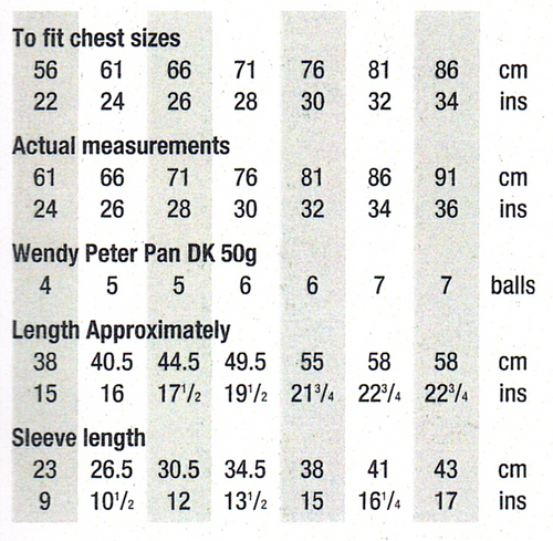 P1144 Raglan Sleeve Cardi-Jacket age 2 to 14 years