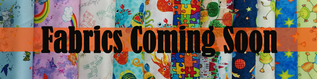 Childrens Fabric - coming son