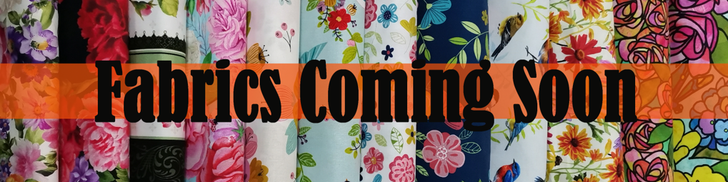 Floral Fabrics - coming soon