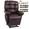 Power headrest and power lumbar of the MaxiComfort Cloud with Twilight