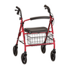 Mack Heavy Duty Rollator in Red