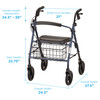 Mack Heavy Duty Rollator measurements