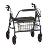 Mighty Mack Heavy Duty Rollator in Blue