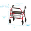 Mighty Mack Heavy Duty Rollator measurements