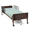 Medline Semi Electric Hospital Bed with mattress and rails