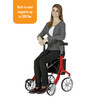 Let's Fly Rollator woman seated