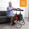 Let's Fly Rollator adjustable height