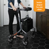 Let's Move Rollator great for indoor and outdoor use!
