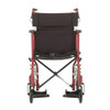 Nova Model 330 Transport Chair with hand brakes - Front View