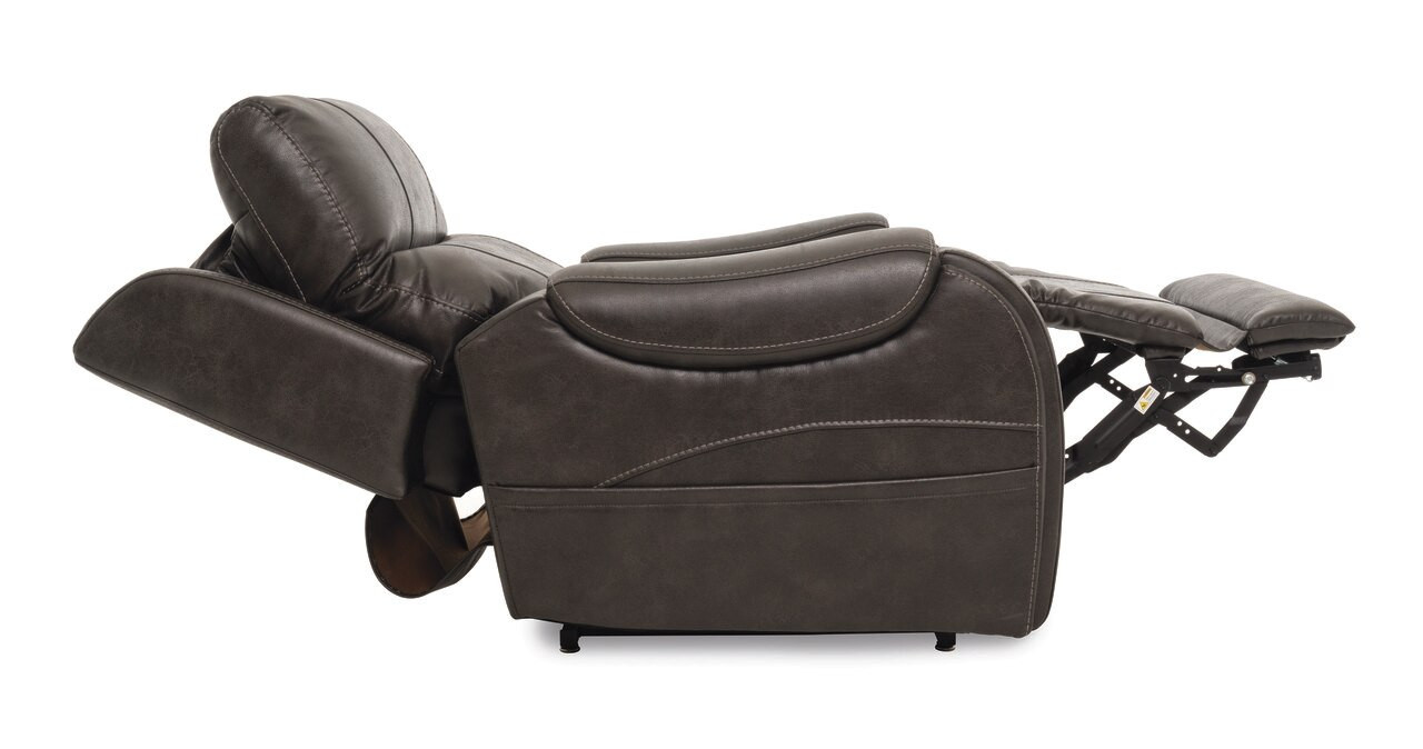 Atlas lift chair reclined with headrest