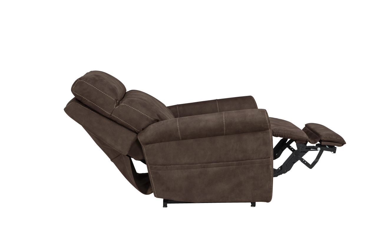 Urbana Lift Chair Reclined in Granite