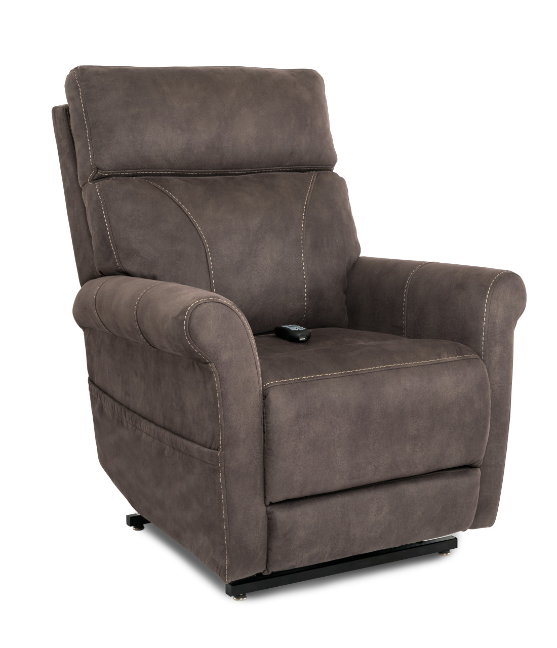 Urbana Lift Chair Seated in Gunmetal