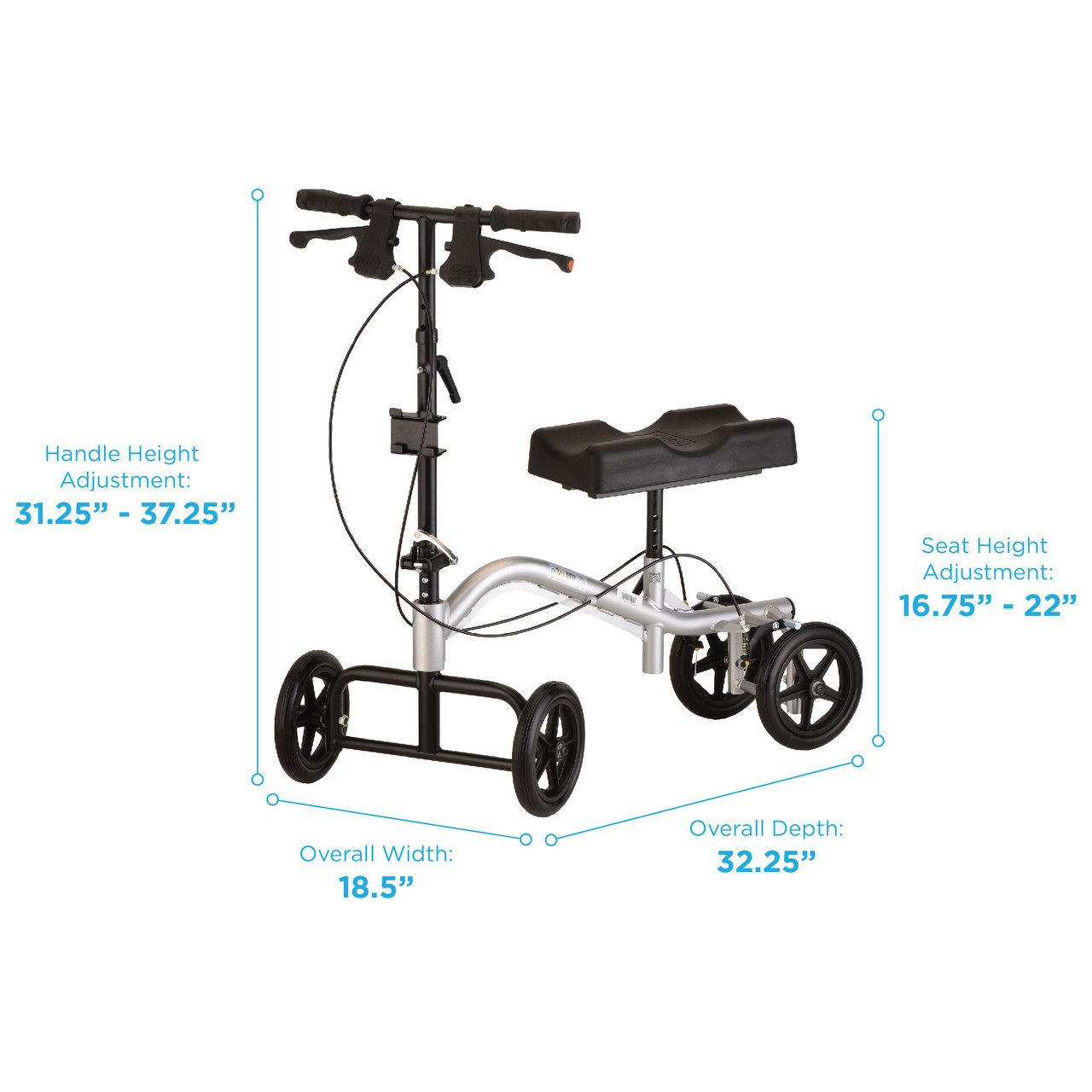 Knee Walker (Standard) Rental:  $20/Week