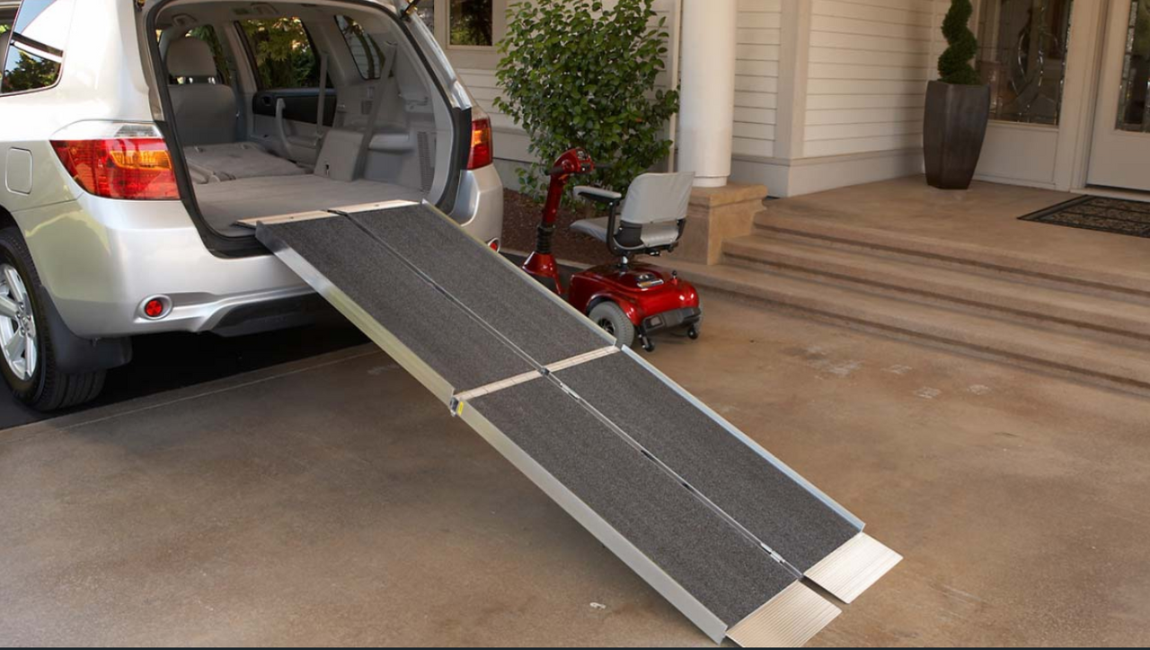 Trifold Ramp