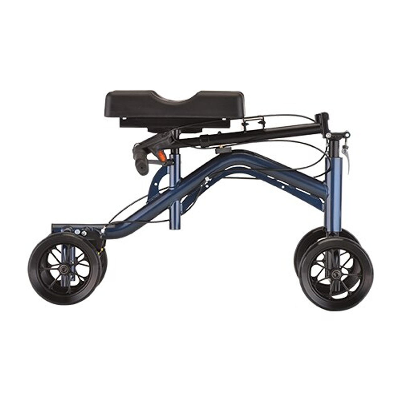 Nova Heavy Duty Tall Knee Walker / Knee Scooter folded