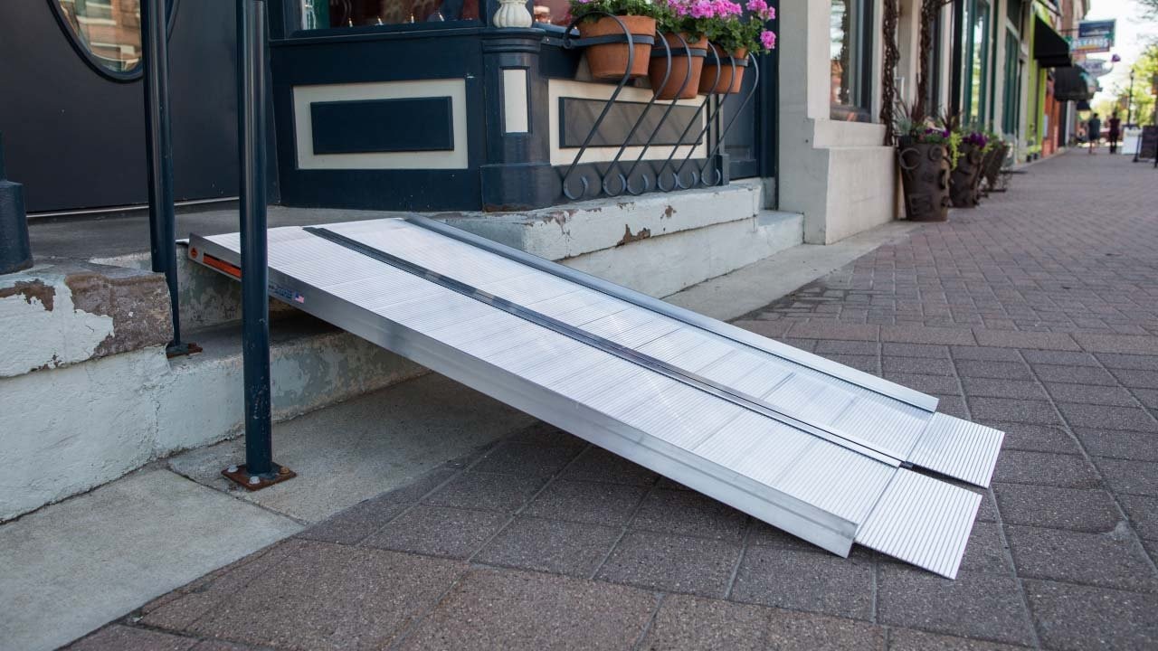 EZ-Access portable  single fold ramp
