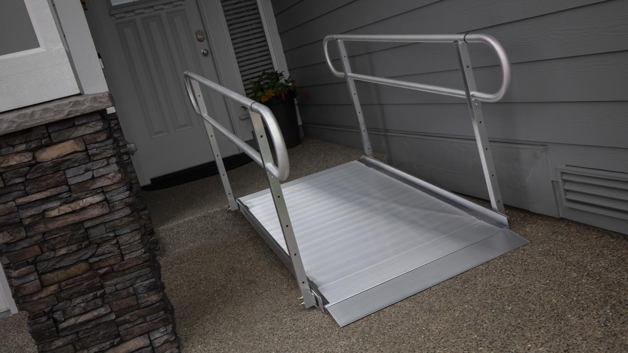 EZ-Access Gateway 3G ramp with two line handrails