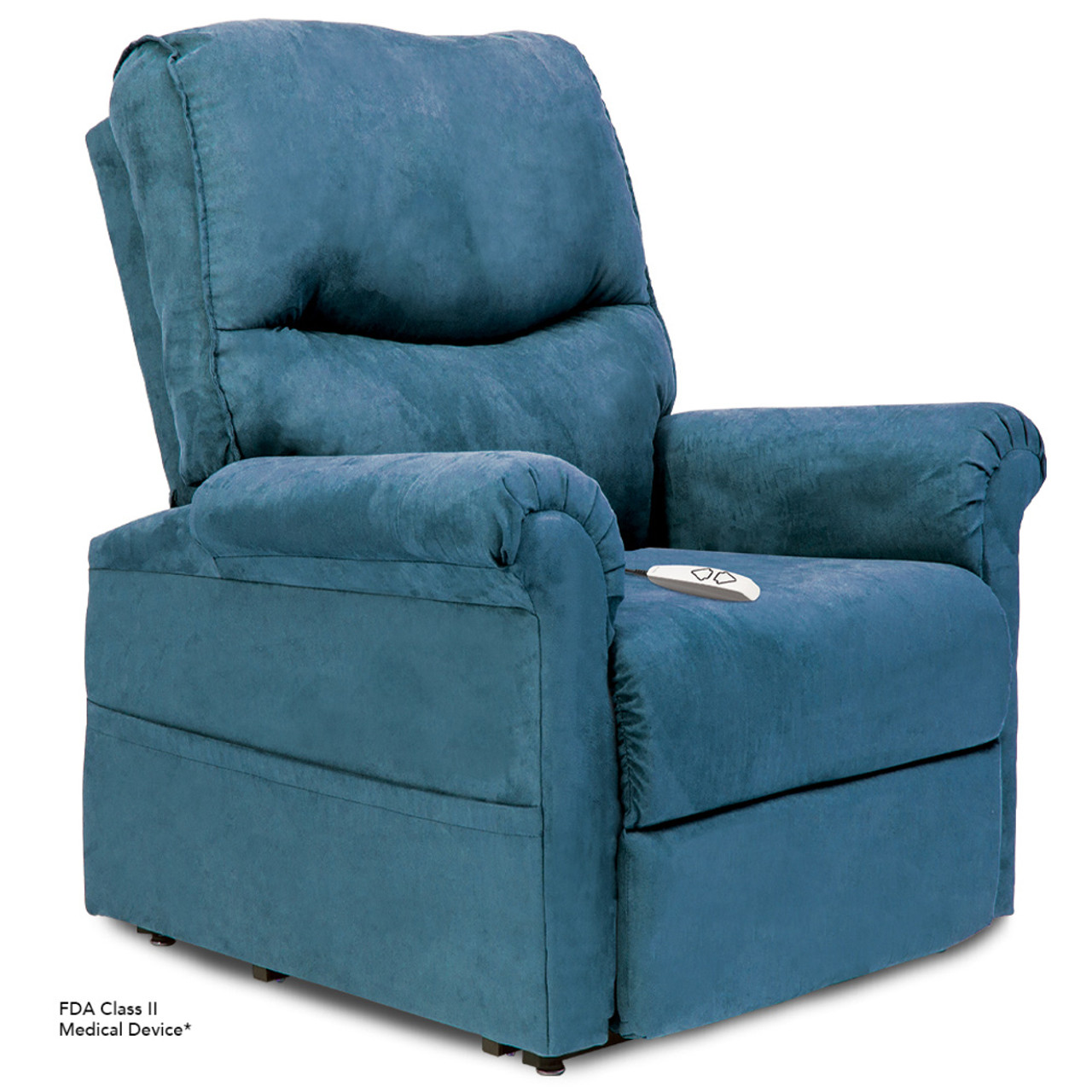 Essential LC105 Lift Chair in Microsuede Sky