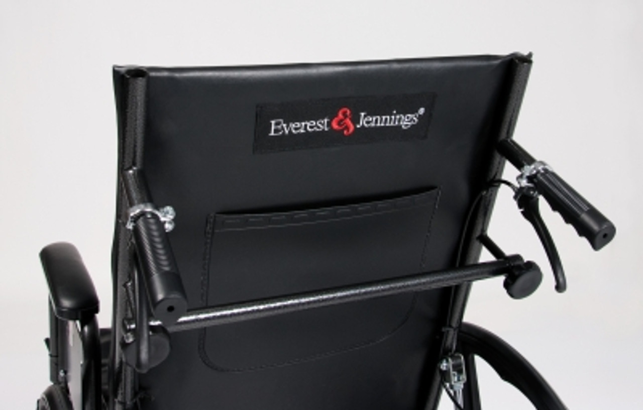 Advantage Reclining Wheelchair without back extension