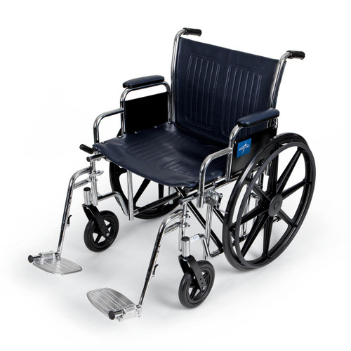Heavy Duty Wheelchair with seat widths up to 24 inches