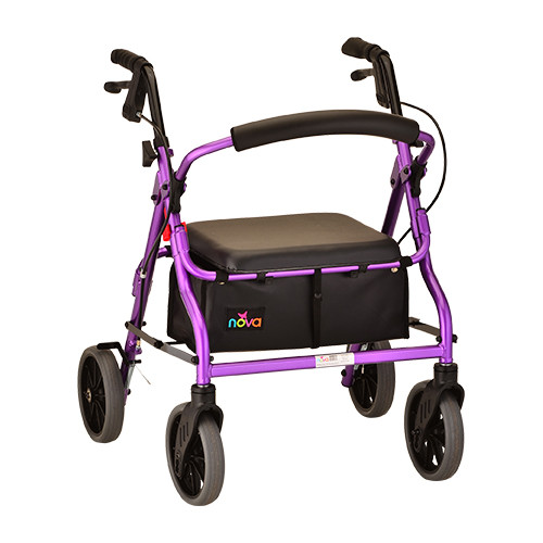 Nova 4218 Rollator Purple
