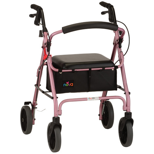 Zoom 4222 Rollator in Pink