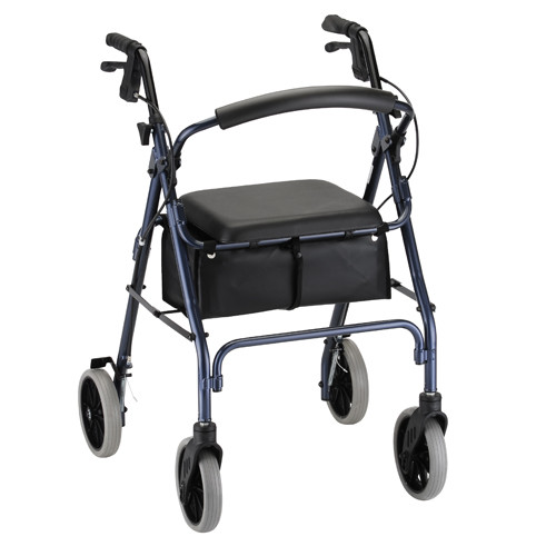 Zoom 4224 Rollator in Blue