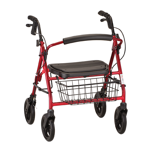 Mini Mack Rollator in Red