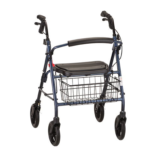 Mack Heavy Duty Rollator in Blue