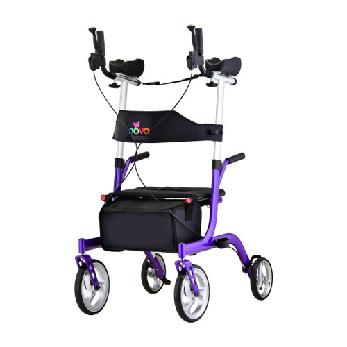 Phoenix Rise Up Rollator in Purple