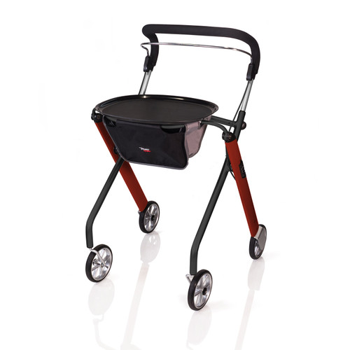 Let's Go Indoor Rollator Red