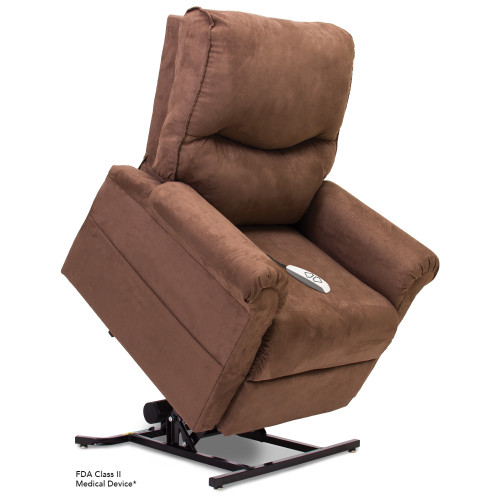 Essential LC105 Lift Chair in Microsuede Coco