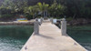 Beautiful dock with our heavy duty passageway dock lights