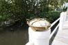 brass dock low profile dock piling light