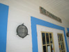 brass patina wall mounted nautical light