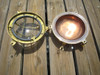 brass and copper nautical bulkhead light
