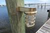 brass ship's marine dock light