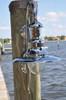 Chrome Marine dock light
