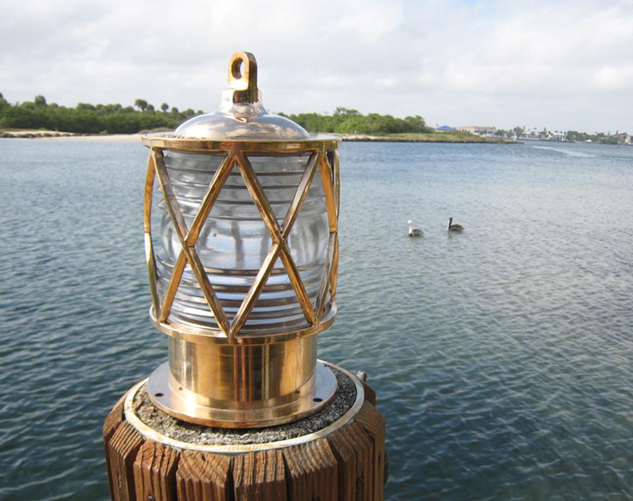 European nautical dock light