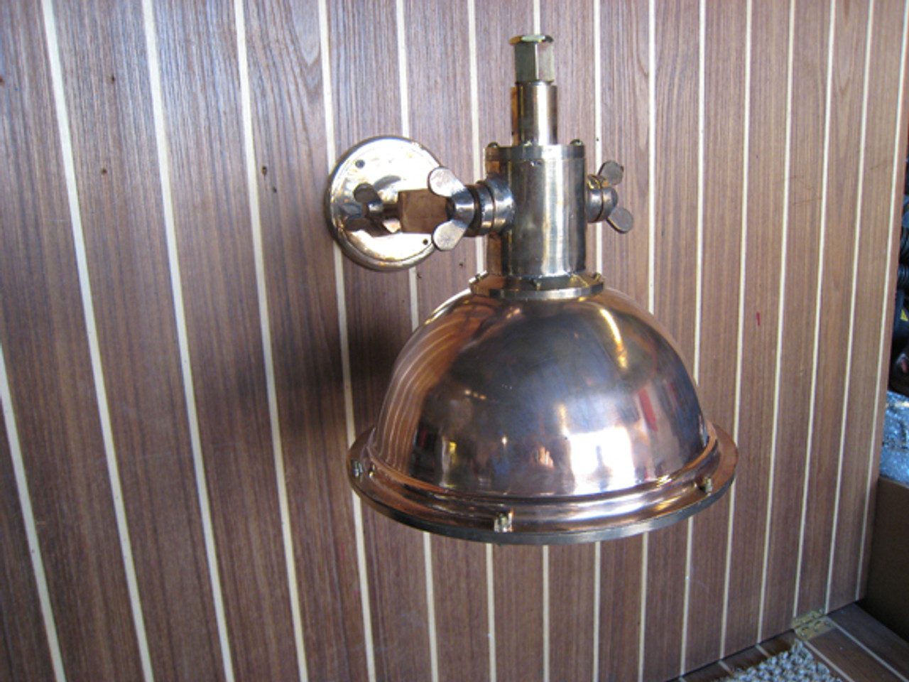 antique ship light interior
