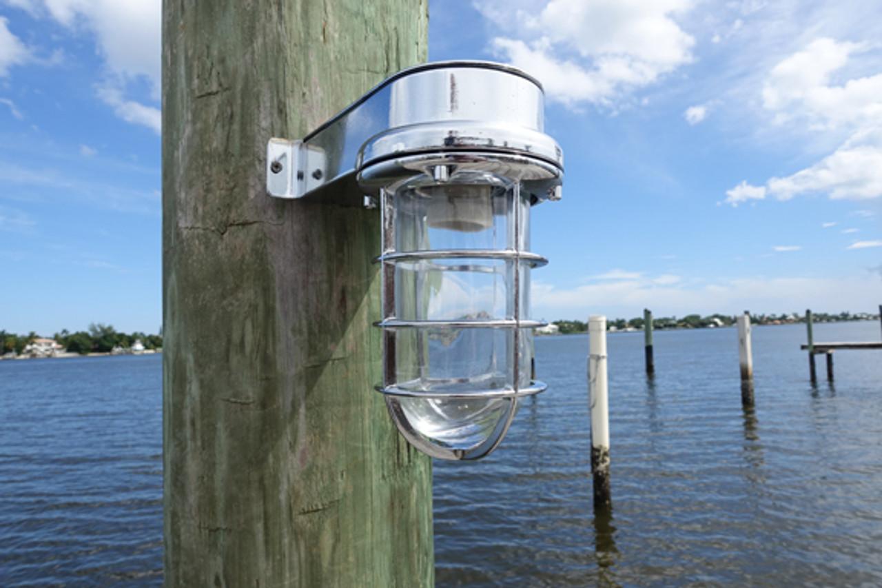 chrome dock marine light