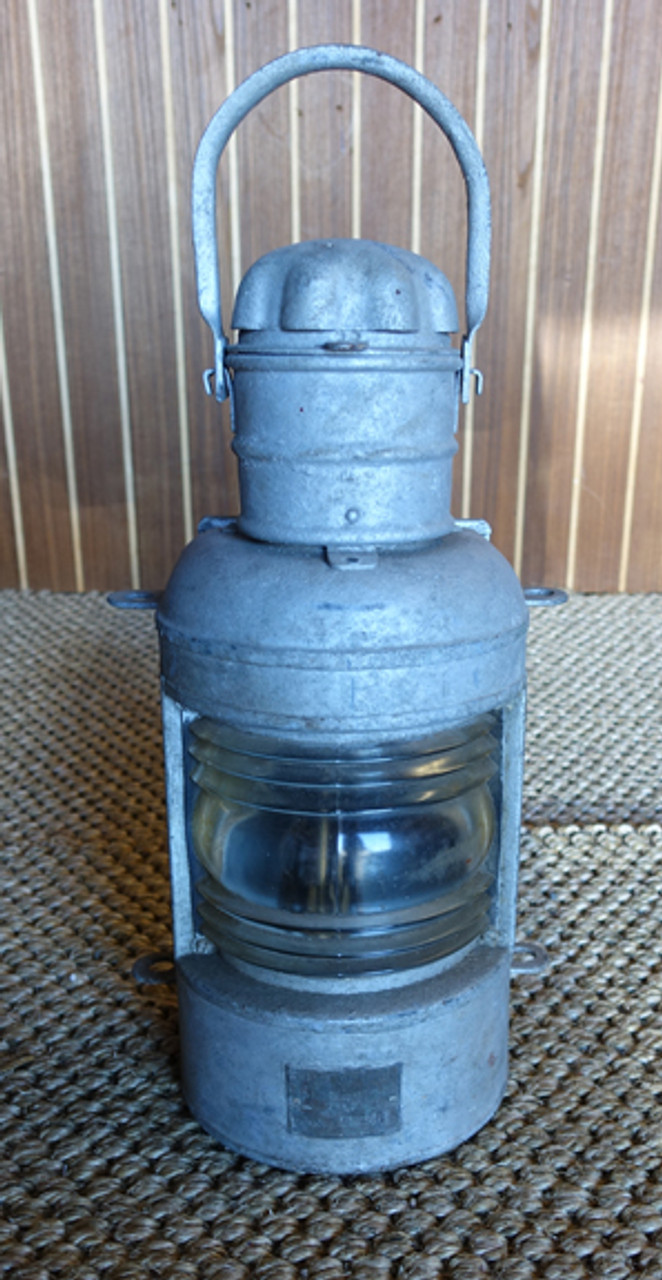 Galvanized Ship S Stern Nautical Lantern Galvanized Steel Nautical Lights