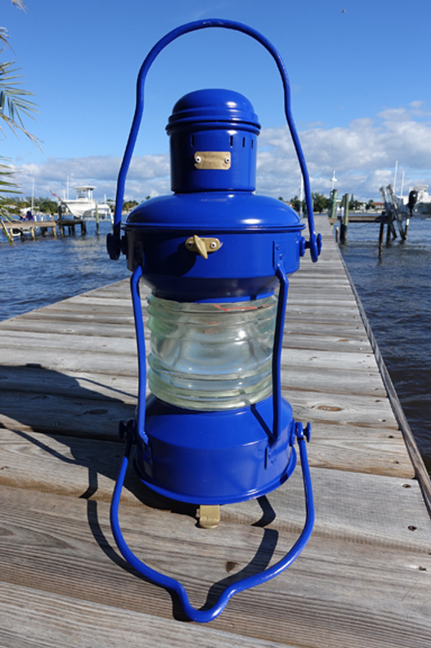 Satin Ink Blue Anchor light